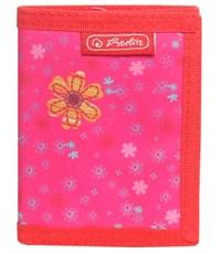 Кошелек Herlitz Compact Fancy Girls Розовая бабочка