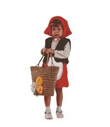 "Новогодний костюм ""Красная шапочка"" для девочки"