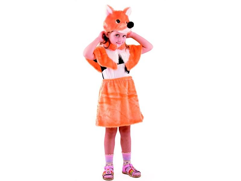Карнавальный костюм Лисичка-сестричка Батик
