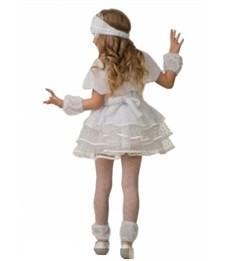Фото 2. Новогодний костюм Снежинки Снеговичка для девочки
