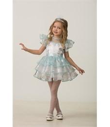 Новогодний костюм Снежинка Снежана для девочки