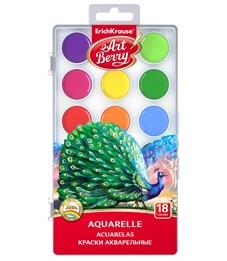 Акварель Erich Krause ArtBerry с УФ защитой яркости 18 цветов