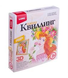 "Квиллинг-панно Lori 3D ""Улыбка лета"", с рамкой, картонная коробка"