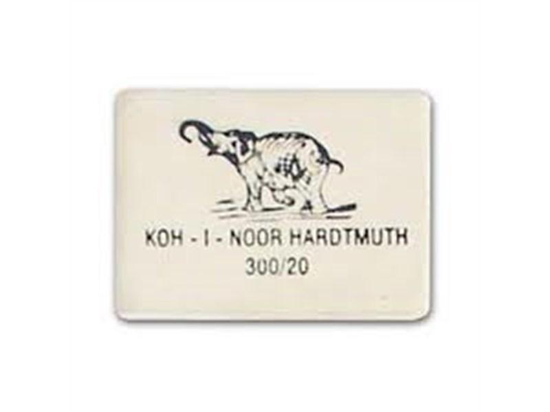 Ластик KOH-I-NOOR ELEPHANT 300/20 для карандашей В, 2В, 4В