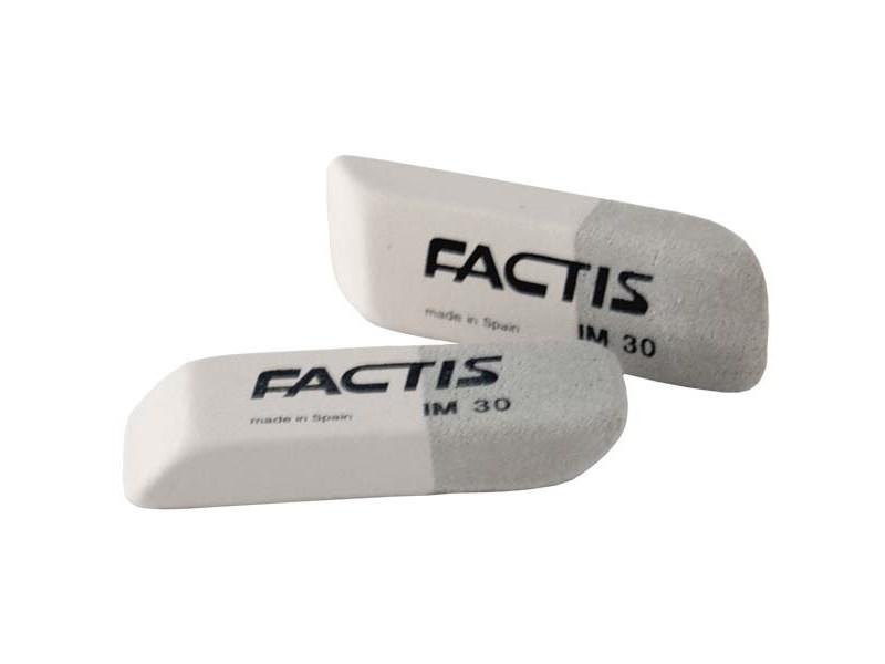 Ластик FACTIS комбинированный для грифеля и чернил