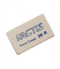 Ластик FACTIS мягкий из синтетического каучука 39х23х9мм