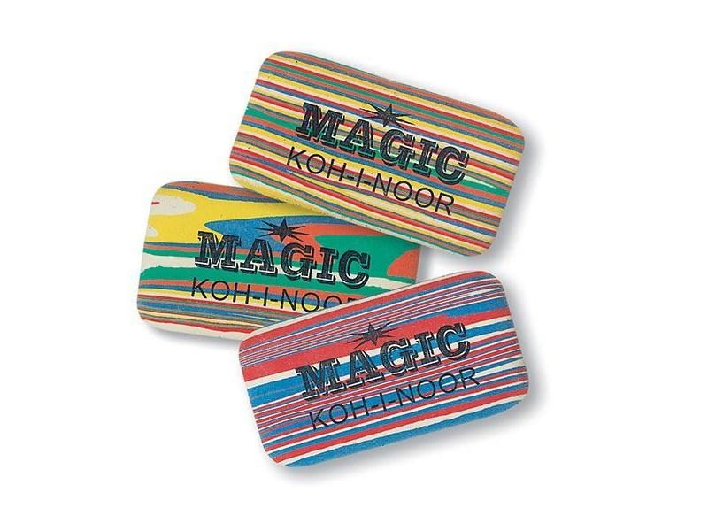 Ластик KOH-I-NOOR Magic полосатый