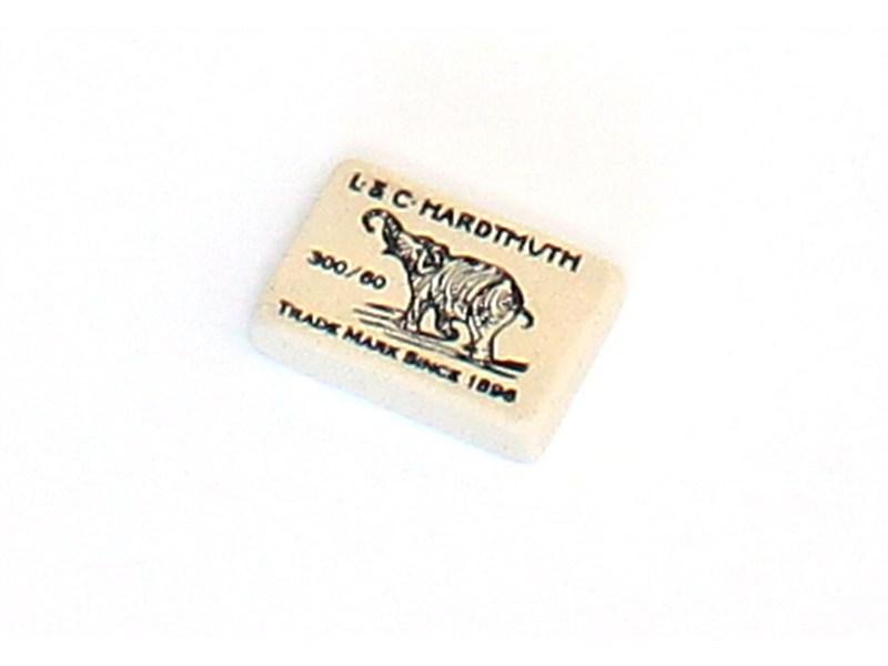 Ластик KOH-I-NOOR ELEPHANT 300/60 мягкий для карандашей В, 2В, 4В