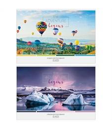 """Альбом для рисования 24л., А4, на скрепке ArtSpace """"Путешествия. Краски природы"""", обл., офсет"""