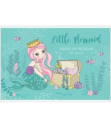 """Альбом для рисования 40л., А4, на скрепке ArtSpace """"Русалки. Little mermaid-2"""""""