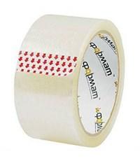 Упаковочная лента 50 мм х 66 м, 40 мкм, прозрачная