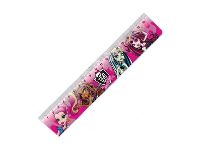 Линейка пластиковая Monster High 20 см