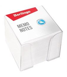 """Блок для записи Berlingo """"Standard"""", 9*9*9см, пластиковый бокс, белый"""