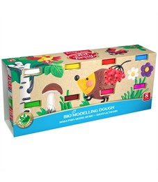 Масса для лепки ArtBerry, 08 цветов, 100г, с алоэ вера, картон
