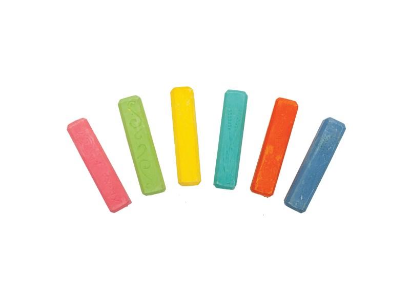 Мелки Каляка-Маляка цветные для асфальта 6 шт