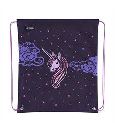 Мешок для обуви Herlitz Girls Mix 2 Unicorn Night