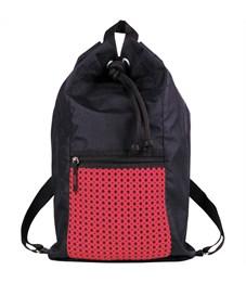 """Мешок для обуви 1 отделение Berlingo """"Style"""", розовый, карман на молнии"""