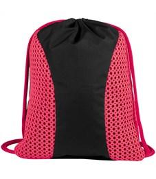 """Мешок для обуви 2 отделения Berlingo """"Style"""", розовый"""