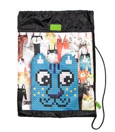 Мешок для обуви 4ALL Синий кот
