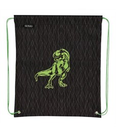 Мешок для обуви Herlitz Boys Mix 2 Green Dino