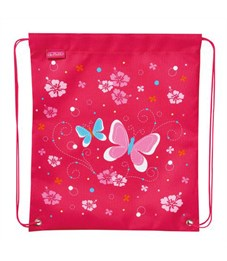 Мешок для обуви Herlitz Girls Mix 1 Butterfly