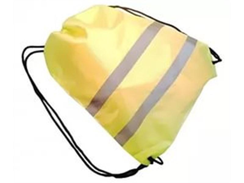 Мешок сигнальный для сменной обуви, лимонный