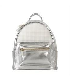 Мини рюкзак Poker Face Backpack WY-A020 Серебряный