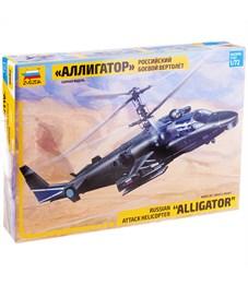 """Модель для склеивания Звезда """"Российский боевой вертолёт КА-52 Аллигатор"""", масштаб 1:72"""