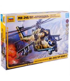"""Модель для склеивания Звезда """"Советский ударный вертолёт МИ-24 Крокодил"""", масштаб 1:72"""