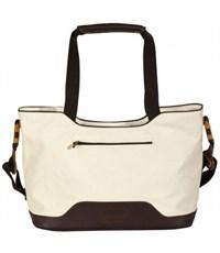 Молодежная сумка для отдыха Quer Q17 белая КОЖА+ТЕКС 882501-155