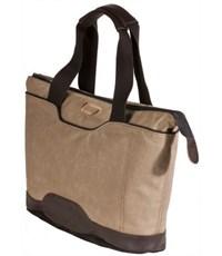 Фото 3. Молодежная сумка для отдыха Quer Q18 коричневая КОЖА+ТЕКС 882600-403