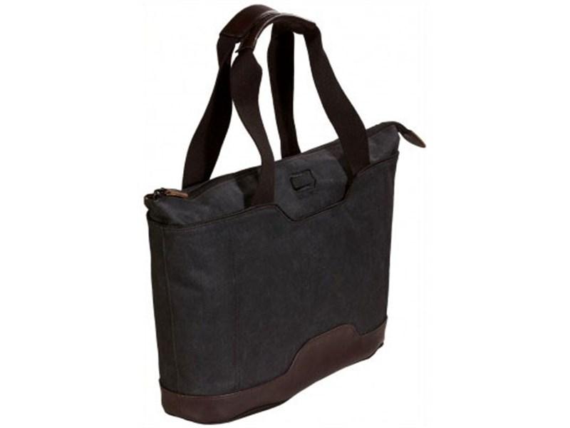 Молодежная сумка для отдыха Quer Q18 черная КОЖА+ТЕКС 882600-199