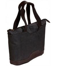 Фото 2. Молодежная сумка для отдыха Quer Q18 черная КОЖА+ТЕКС 882600-199