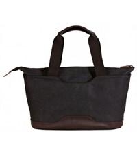 Фото 4. Молодежная сумка для отдыха Quer Q18 черная КОЖА+ТЕКС 882600-199