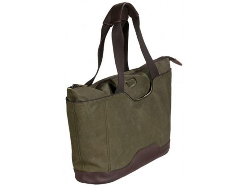 Молодежная сумка для отдыха Quer Q18 оливковая КОЖА+ТЕКС 882600-401