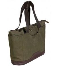 Фото 2. Молодежная сумка для отдыха Quer Q18 оливковая КОЖА+ТЕКС 882600-401