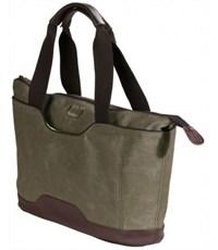 Фото 3. Молодежная сумка для отдыха Quer Q18 оливковая КОЖА+ТЕКС 882600-401