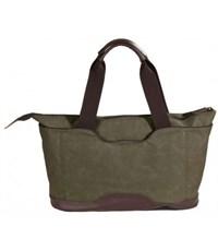 Фото 4. Молодежная сумка для отдыха Quer Q18 оливковая КОЖА+ТЕКС 882600-401