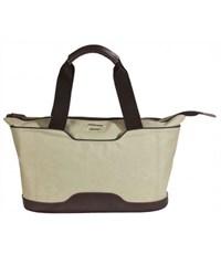 Молодежная сумка для отдыха Quer Q18 серая КОЖА+ТЕКС 882600-288