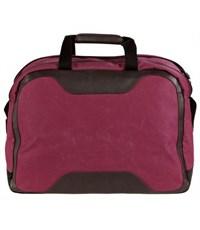 Фото 4. Молодежная сумка для путешествий Quer 3 красная КОЖА+ТЕКС 882000-788
