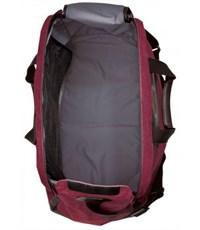 Фото 5. Молодежная сумка для путешествий Quer 3 красная КОЖА+ТЕКС 882000-788