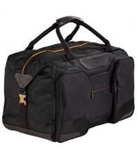 Фото 2. Молодежная сумка для уик-эндов Quer Q25 черная КОЖА+ТЕКС 882200-199