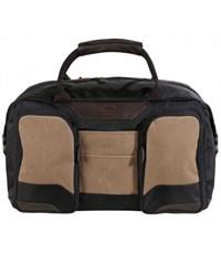 Молодежная сумка для уик-эндов Quer 25 коричневая КОЖА+ТЕКС 882200-403