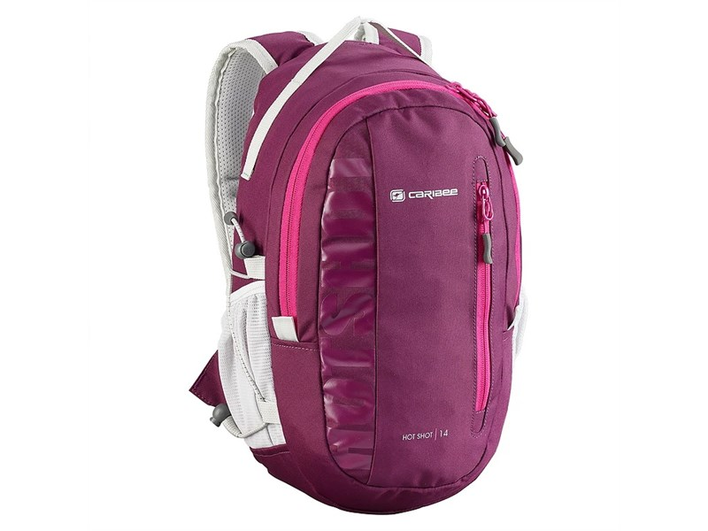Молодежный рюкзак Caribee Hot Shot 61053 малиновый