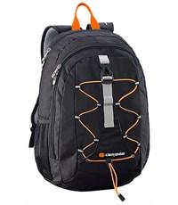 Молодежный рюкзак Caribee Impala 6390 черный/оранжевый шнур