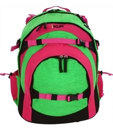 Молодежный рюкзак Ikon розово-зеленый