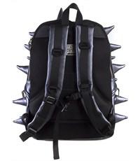 Фото 3. Молодежный рюкзак MadPax Rex Full Heavy Metal Spike Blue с шипами
