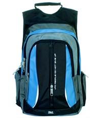 Фото 2. Молодежный спортивный рюкзак Ufo people c бирюзовыми вставками
