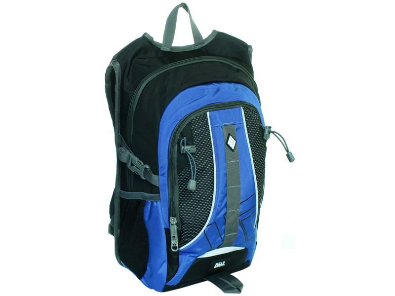 Молодежный спортивный рюкзак Ufo people с синими вставками