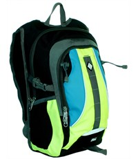 Молодежный спортивный рюкзак Ufo people с желтыми вставками